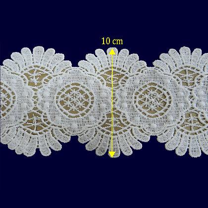 DXR554 - Entremeio 10 cm 100% poliéster