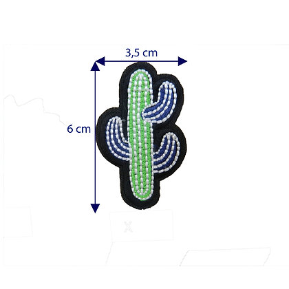DXT222 - Patche termocolante - Cacto
