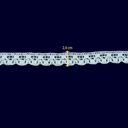 DXR49 - Bico 2,4 cm 100% algodão