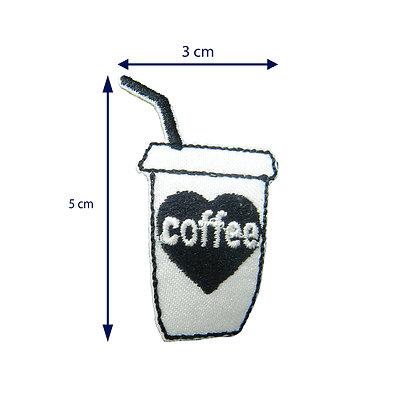 DXT115 - Patche termocolante - Coffe