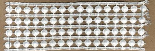 DXR733 - Entremeio 5,5 cm 100% poliéster
