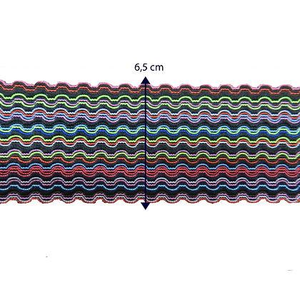 GLX107 - Galão em elástoco colorido