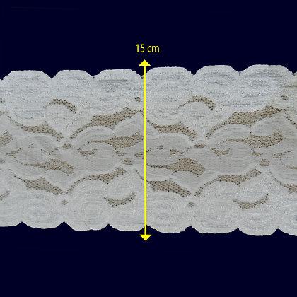 DXR964 - Renda com elastano 15 cm