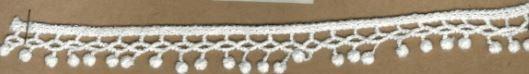 DXR528 - Bico 1,5 cm 100% poliéster