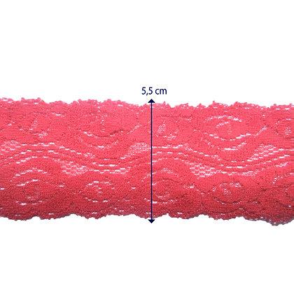 DXR953 - Renda com elastano 5,5 cm