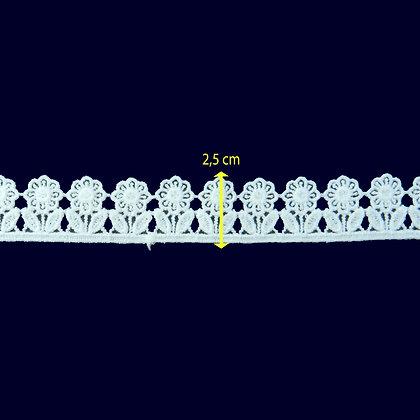 DXR937 - Bico 2,5 cm 100% poliéster