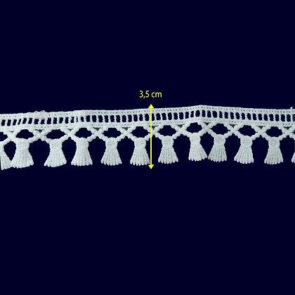 DXR752 - Bico 3,5 cm 100% poliéster