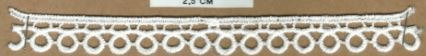 DXR686 - Bico 1,5 cm 100% poliéster
