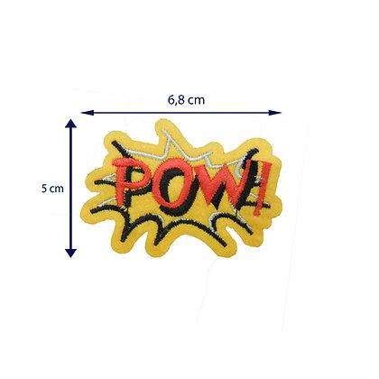 DXT210 - Patche termocolante - POW!