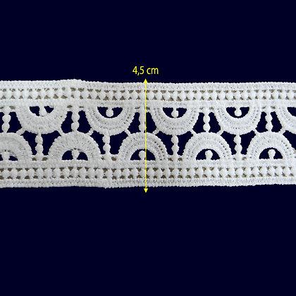 DXR450 - Entremeio 4,5 cm 100% poliéster