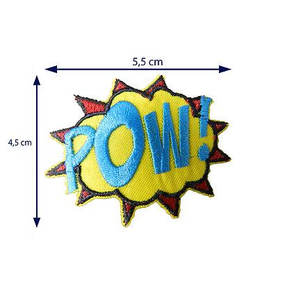 DXT136 - Patche termocolante - POW!
