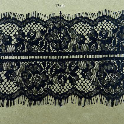 DXY125 - Renda Chantilly 12 cm