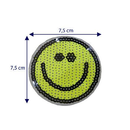 DXT174 - Patche termocolante - Smile