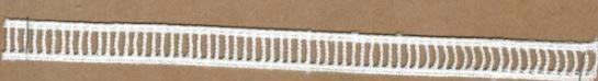 DXR625 - Ponto palito 1,5 cm 100% poliéster