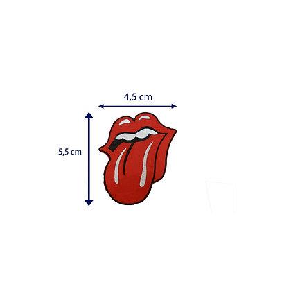 DXT62 - Patche termocolante boca Rolling Stones