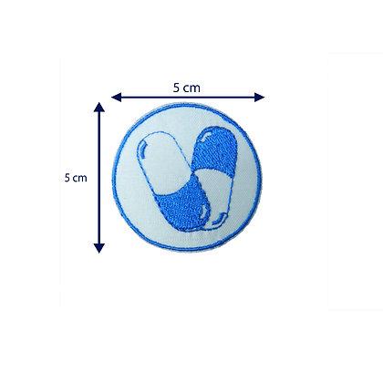 DXT181 - Patche termocolante - Pílulas