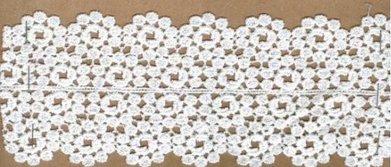 DXR555 - Entremeio 8 cm 100% poliéster