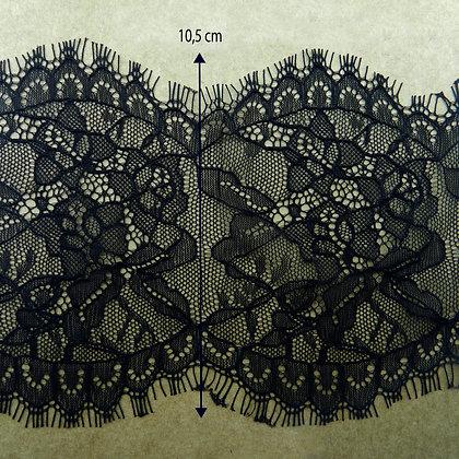 DXY130 - Renda Chantilly 10,5 cm