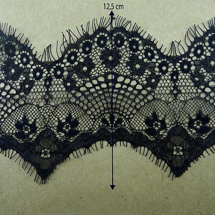 DXY131 - Renda Chantilly 12,5 cm