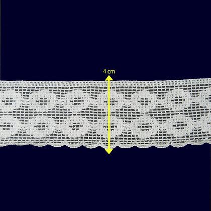 DXR115 - Bico 4 cm 100% algodão