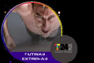 Rutina de ejercicios para aumentar masa muscular en el gimnasio para hombres.