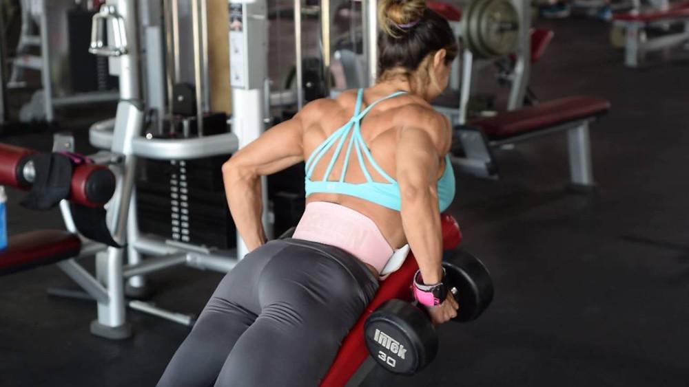 Remo horizontal para espalda