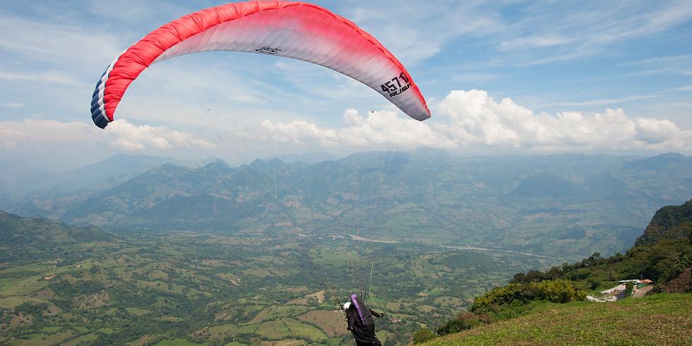El mejor clima para volar en Santa Fé de Antioquia