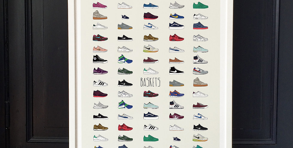 Affiche Baskets