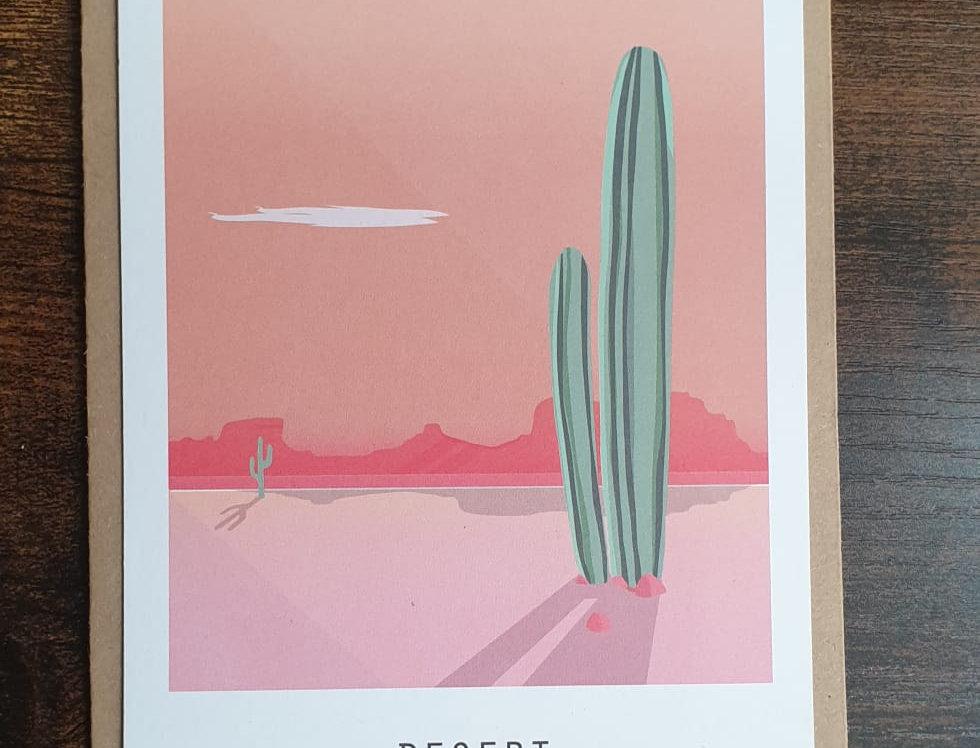 Carte postale DESERT
