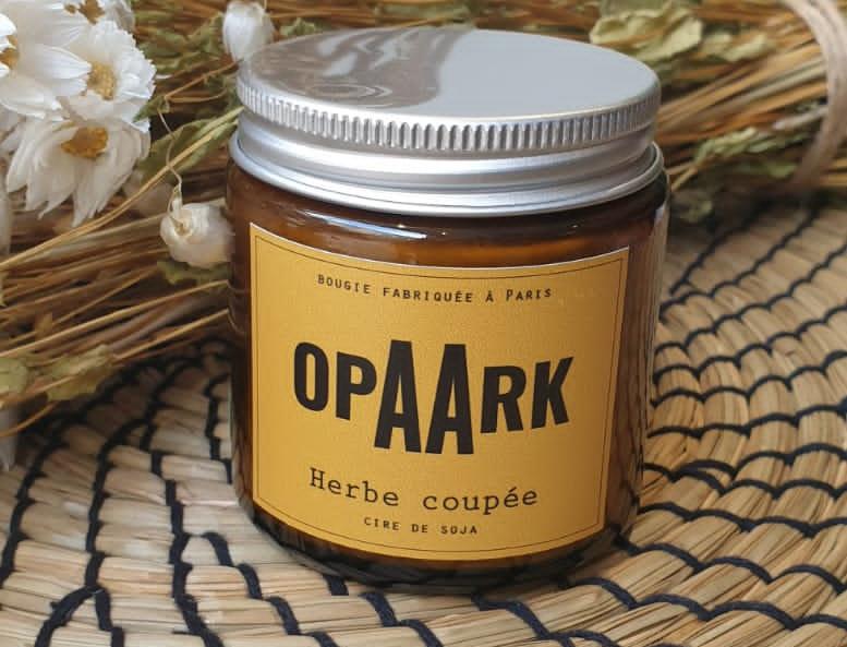 Bougie OPAARK Herbe coupée