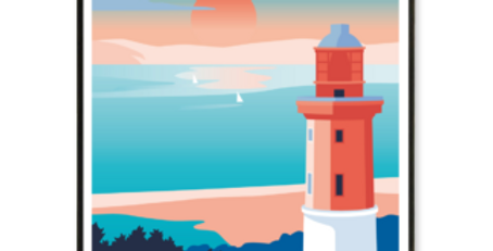 Affiche Cap Ferret - Le Phare