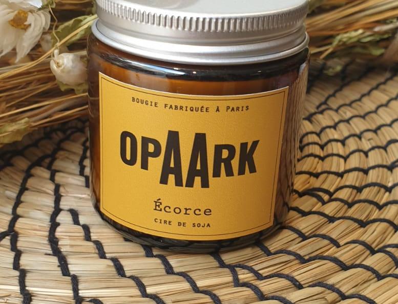 Bougie OPAARK Ecorce