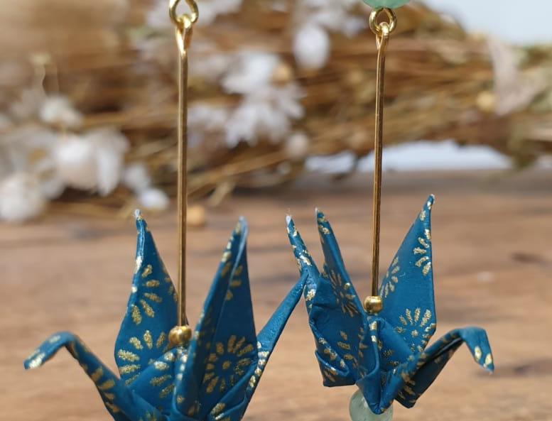 BO en origami à perles