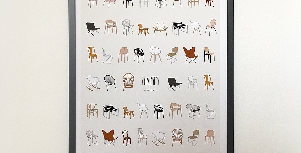 Affiche Chaise