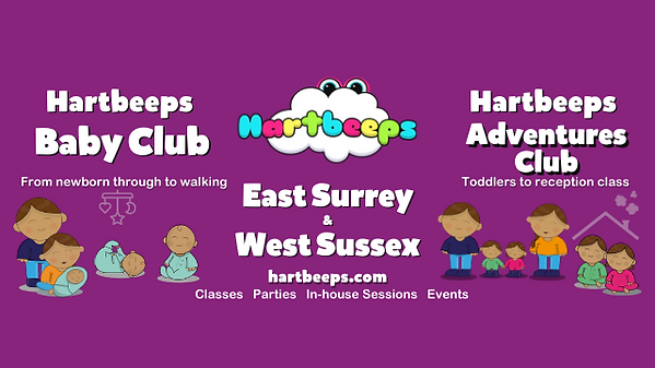 Hartbeeps East Surrey and West Sussex banner advert