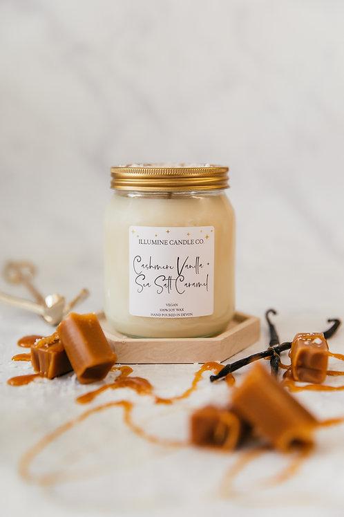 Cashmere Vanilla & Sea Salt Caramel