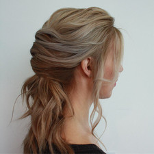 Cool ponytail