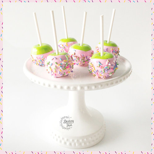 MINI Fake Pink Candy Apples with Sprinkles for Display
