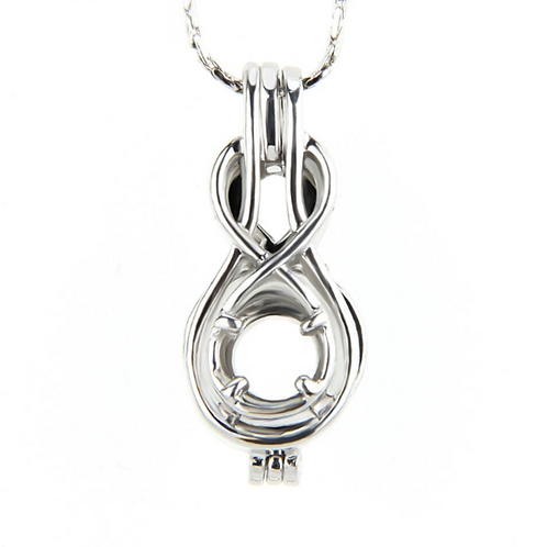 Infinity Pearl Pendant