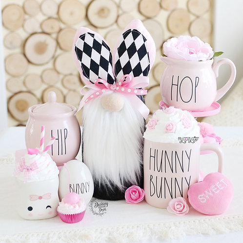 Easter Bunny Gnome Tray Decor