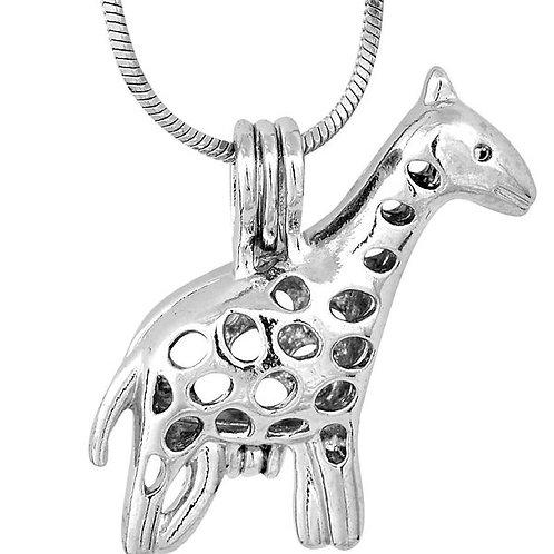 Giraffe Pearl Pendant