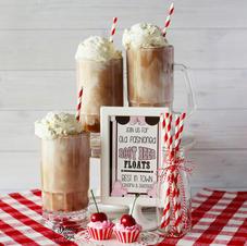 Faux Old Fashioned Root Beer Float
