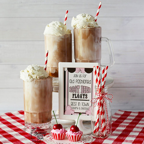 Old Fashioned Root Beer Float for Decor/ Display