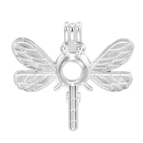 DragonFly Pearl Pendant