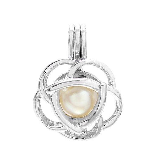 Rose Pearl Pendant