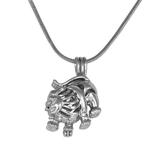 Leo Zodiac Pearl Pendant