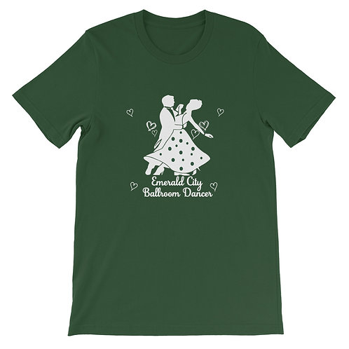 Emerald City Ballroom Dancer, Dance Shirt, Casual Tops, Plus Shirt