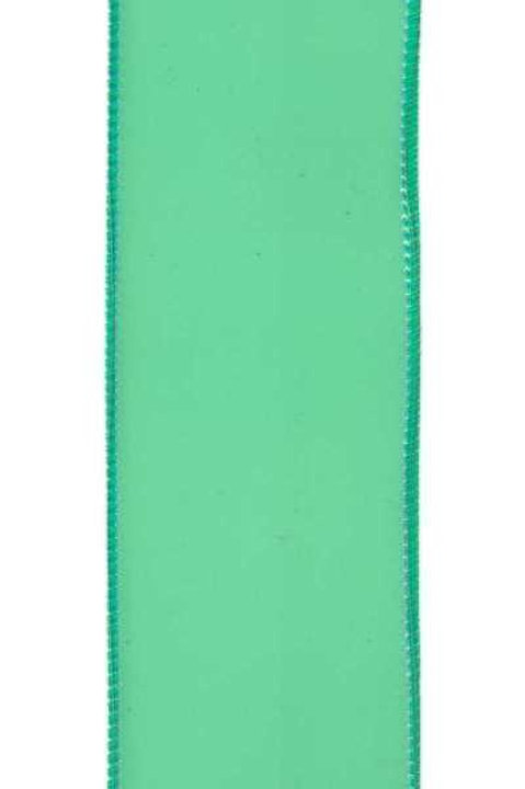 "d. Stevens 2.5"" PVC Jelly Ribbon: Electric Green (10 yards)"