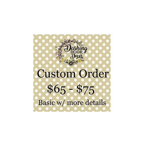 Custom Order Deco Mesh Wreath #002