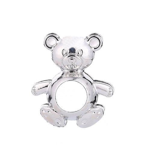 Teddy Bear Pearl Pendant